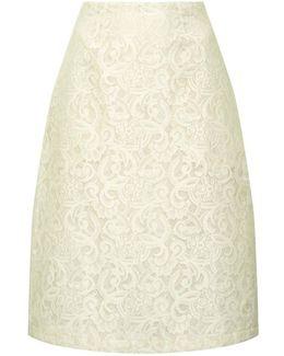 Jasmino Bonded Lace Skirt
