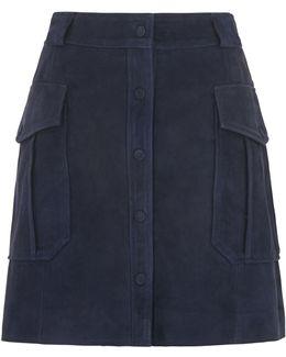 Romy Suede Skirt