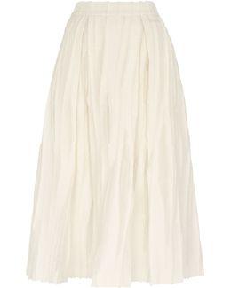 Textured Full Skirt
