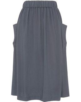 Casual Pocket Skirt