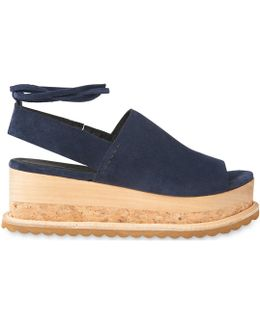 Rada Suede Wedge Sandals