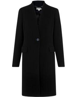 Aniko Collarless Coat
