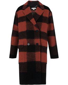 Nico Check Pea Coat