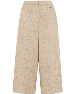 Honor Fleck Cropped Trouser