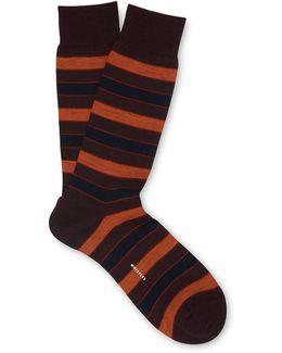 Striped Merino Socks