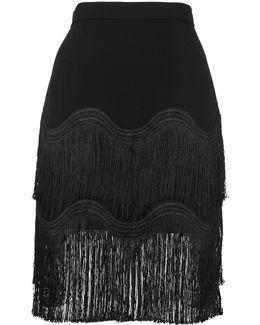 Wave Tassle Skirt