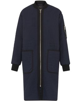 Lini Quilted Longline Parka