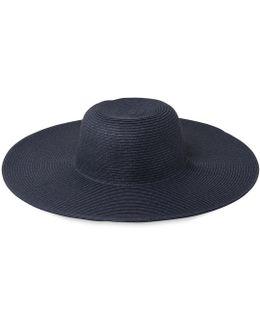 Plain Weave Wide Brim Sun Hat