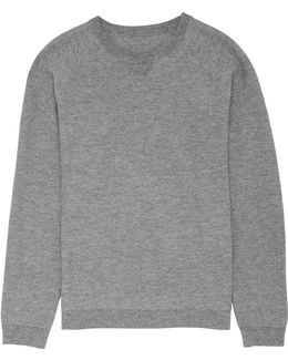 Knitted Athletic Sweater