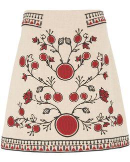 Delia Embroidery Skirt
