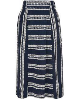 Adina Stripe Skirt