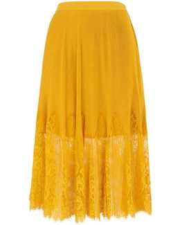 Lilian Pleated Skirt