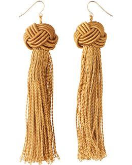 Large Tassel Earring