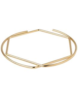 Circle Hexagon Bangle