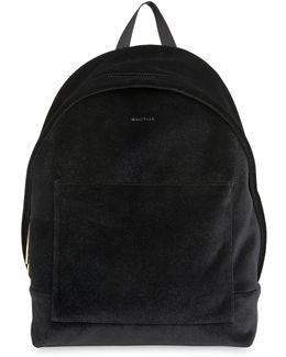 Crossly Velvet Sporty Backpack