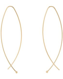 Large Curve Wire Earring