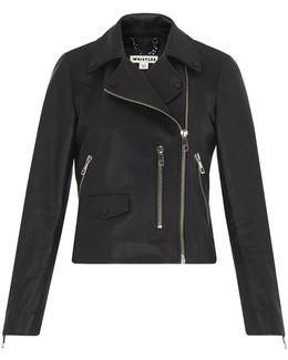 Agnes Leather Biker