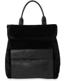 Shearling Verity Backpack