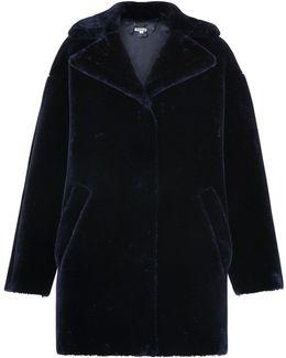 Yara Faux Fur Cocoon Coat