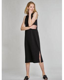Pre-order Combed Cotton Midi Dress