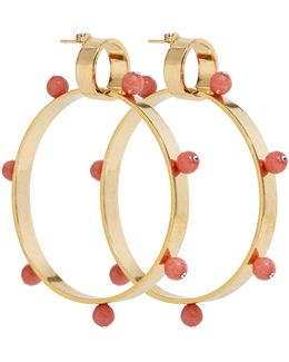 I Have A Love Hoops Gold & Pink