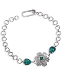 Gyspy Rose Malachite Bracelet
