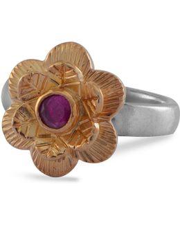 Gypsy Rose Ruby Ring