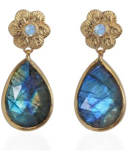 Adila Labradorite Earrings