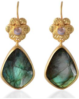 Adila Labradorite Drop Earrings