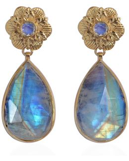 Adila Moonstone Earrings