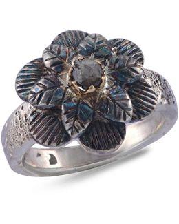 Talini Diamond Flower Ring
