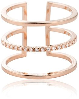 Triple Bewitched Ring In Rose Gold