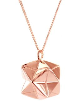 Magic Ball Necklace Rose Gold