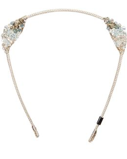 Crystalized Maneframe Headband Sea