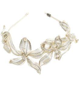 Mesh Diamond Botanical Headband