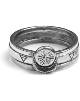 Sun Moon Four Elements Rings
