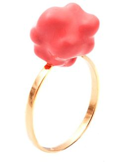 The Pink Popcorn Ring
