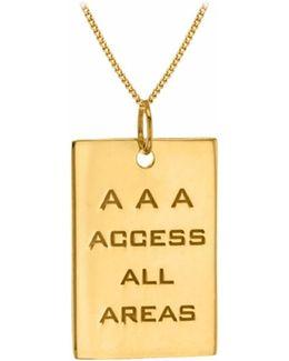 Aaa Pass Yellow Gold