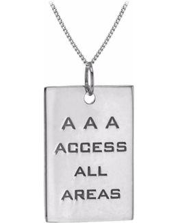 Aaa Pass Silver
