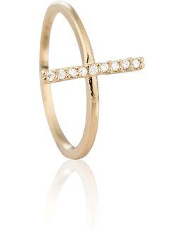 Chase Me Midi Ring In Gold