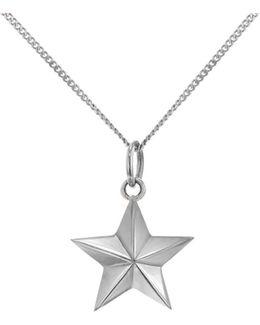 Mini Star Necklace Silver