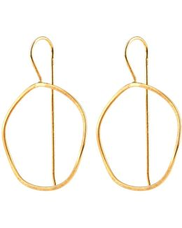 Waves Earrings Gold