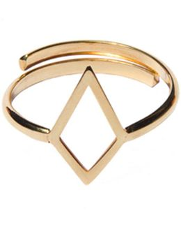 Ruit Adjustable Knuckle Ring Gold