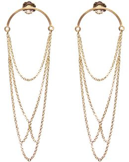 Boog Drop Earrings Arch Gold