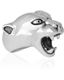 Panther Ring Silver