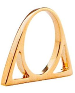 The Golden Triangle Ring