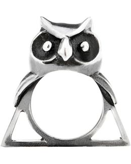 The Owl Triangle Ring