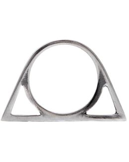 The Silver Triangle Ring