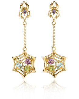 Anansi Earrings Gold