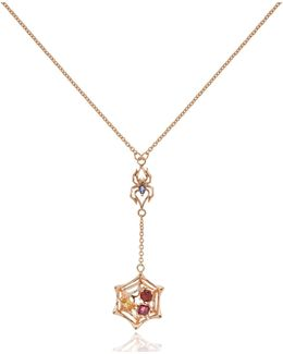 Anansi Small Necklace Rose Gold